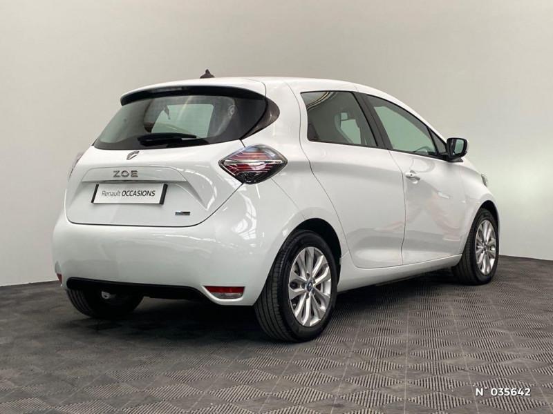 Renault Zoe Zen charge normale R110 Achat Intégral - 20 Blanc occasion à Abbeville - photo n°6