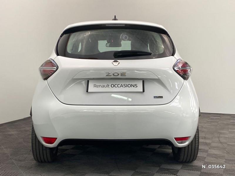 Renault Zoe Zen charge normale R110 Achat Intégral - 20 Blanc occasion à Abbeville - photo n°3