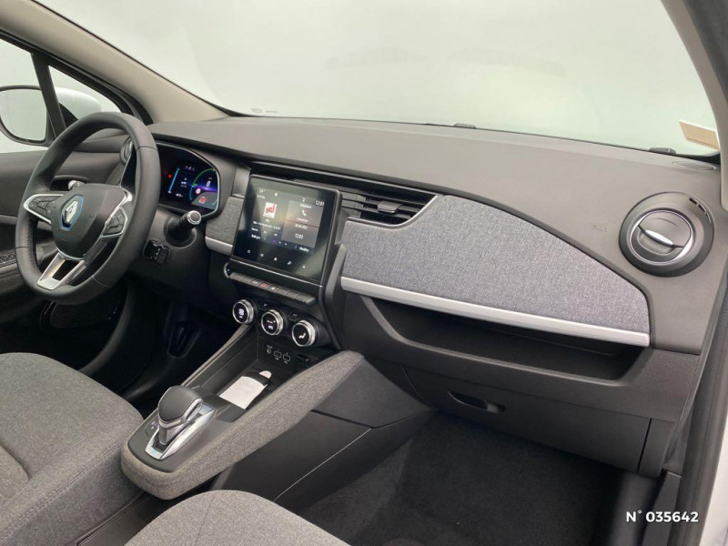 Renault Zoe Zen charge normale R110 Achat Intégral - 20 Blanc occasion à Abbeville - photo n°4