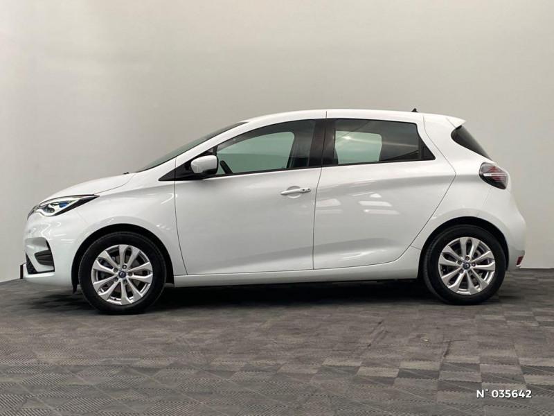 Renault Zoe Zen charge normale R110 Achat Intégral - 20 Blanc occasion à Abbeville - photo n°8