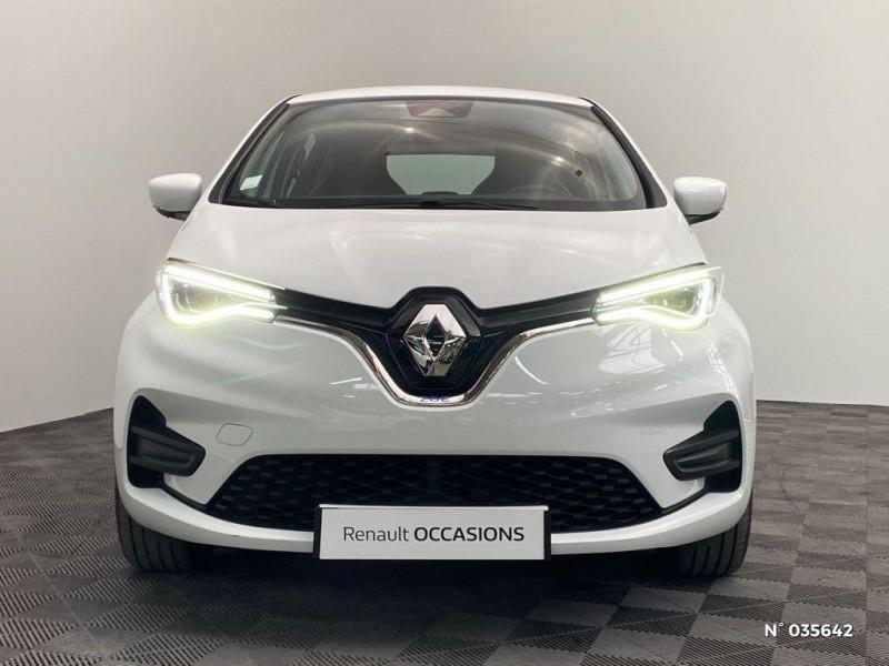 Renault Zoe Zen charge normale R110 Achat Intégral - 20 Blanc occasion à Abbeville - photo n°2