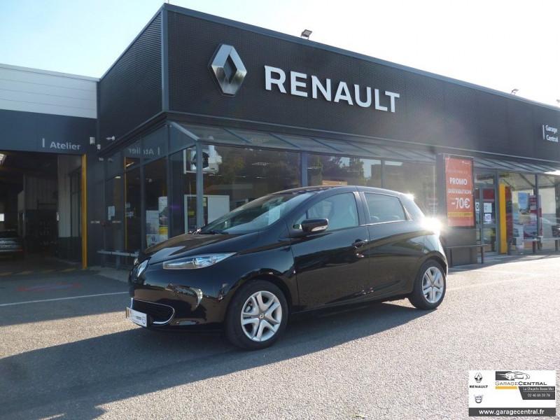Renault Zoe ZEN CHARGE NORMALE R90 MY18 Noir occasion à La Chapelle-Basse-Mer