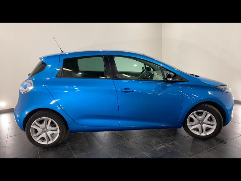 Renault Zoe Zen charge normale R90 Bleu occasion à Aurillac - photo n°8