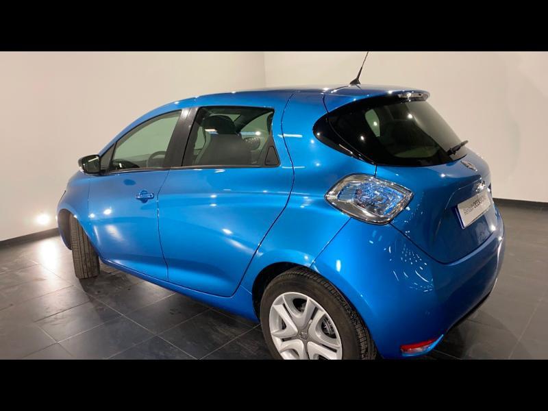 Renault Zoe Zen charge normale R90 Bleu occasion à Aurillac - photo n°7