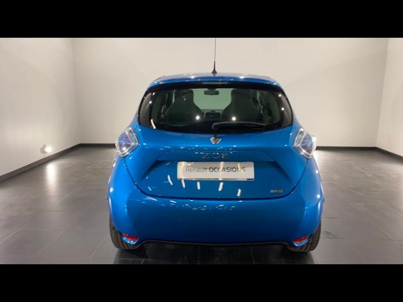 Renault Zoe Zen charge normale R90 Bleu occasion à Aurillac - photo n°4