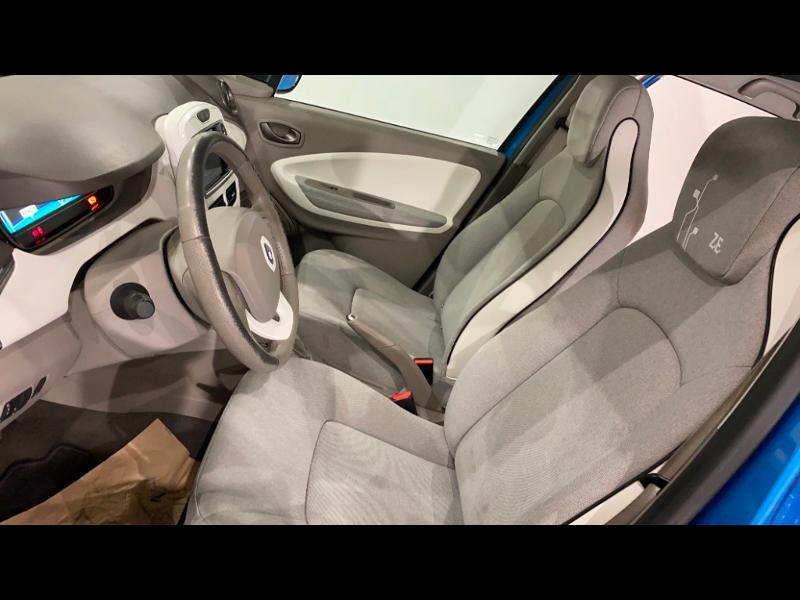 Renault Zoe Zen charge normale R90 Bleu occasion à Aurillac - photo n°11
