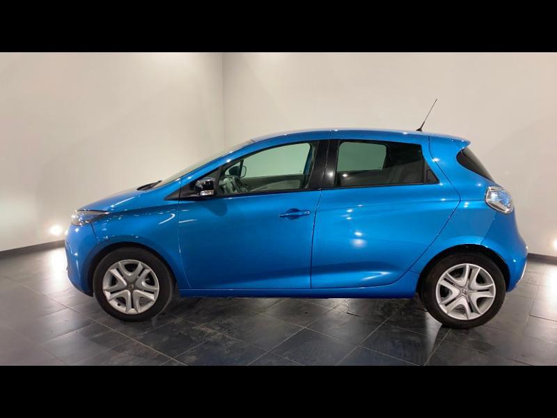 Renault Zoe Zen charge normale R90 Bleu occasion à Aurillac - photo n°3