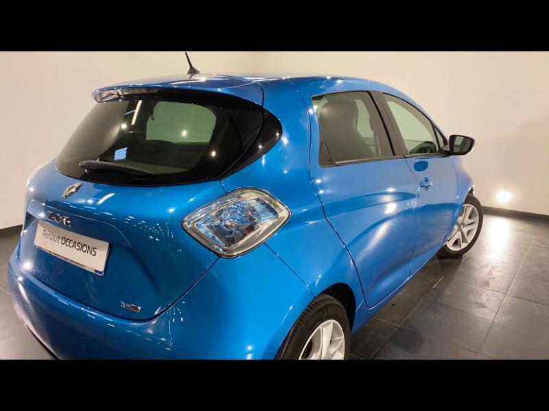Renault Zoe Zen charge normale R90 Bleu occasion à Aurillac - photo n°2