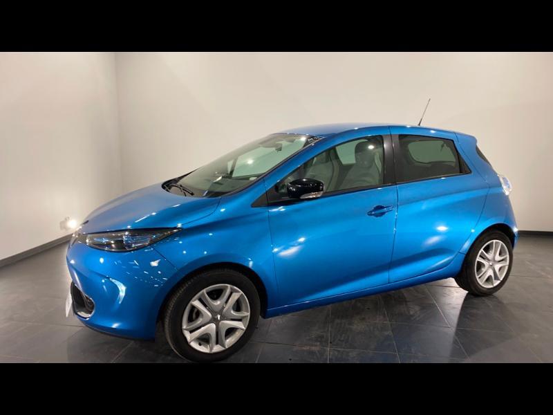 Renault Zoe Zen charge normale R90 Bleu occasion à Aurillac