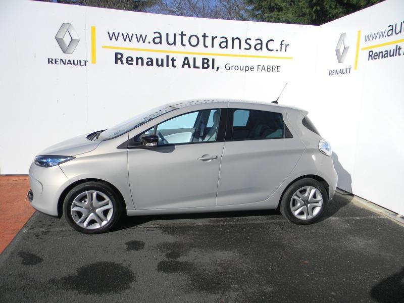 Renault Zoe Zen charge rapide Gris occasion à Albi - photo n°3