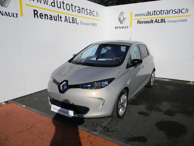 Renault Zoe Zen charge rapide Gris occasion à Albi