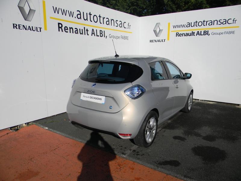 Renault Zoe Zen charge rapide Gris occasion à Albi - photo n°7