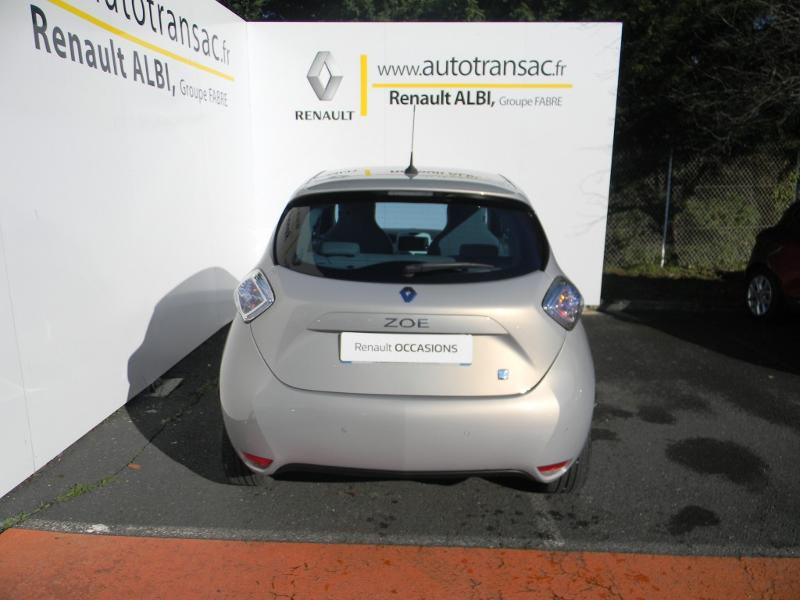 Renault Zoe Zen charge rapide Gris occasion à Albi - photo n°8