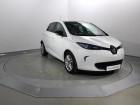 Renault Zoe Zen Gamme 2017 Blanc à VANNES 56
