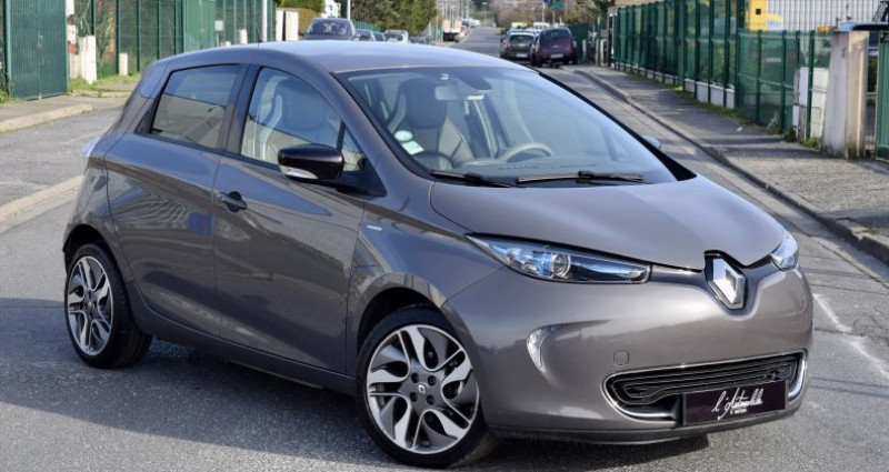 Renault Zoe Zoé I (B10) Edition One charge rapide Gris occasion à MERY-SUR-OISE