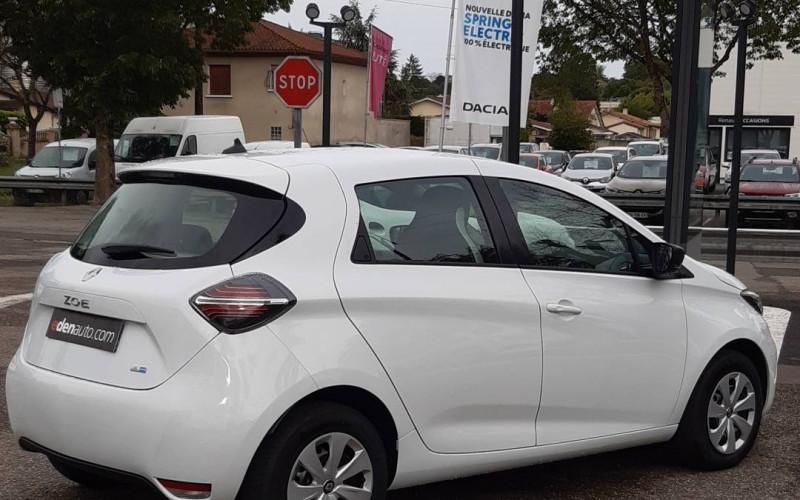 Renault Zoe Zoe R110 Achat Intégral - 21 Life 5p Blanc occasion à Condom - photo n°5