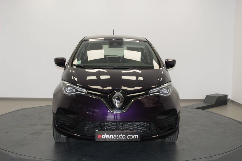 Renault Zoe Zoe R110 Achat Intégral Business 5p Violet occasion à Pau - photo n°9