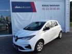 Renault Zoe Zoe R110 Achat Intégral Life 5p Blanc à Sainte-Bazeille 47