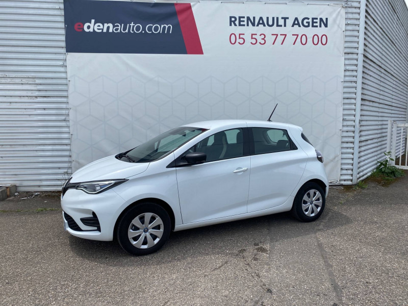 Renault Zoe Zoe R110 Life 5p Blanc occasion à Agen