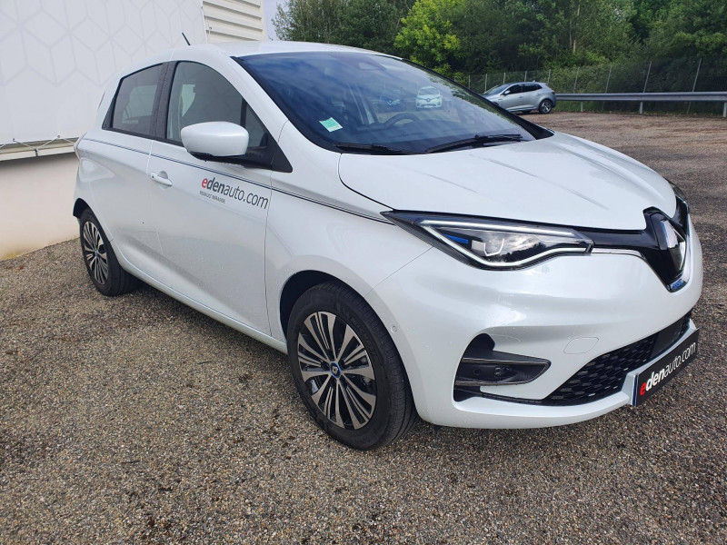 Renault Zoe Zoe R135 Achat Intégral - 21 Exception 5p Blanc occasion à Moncassin