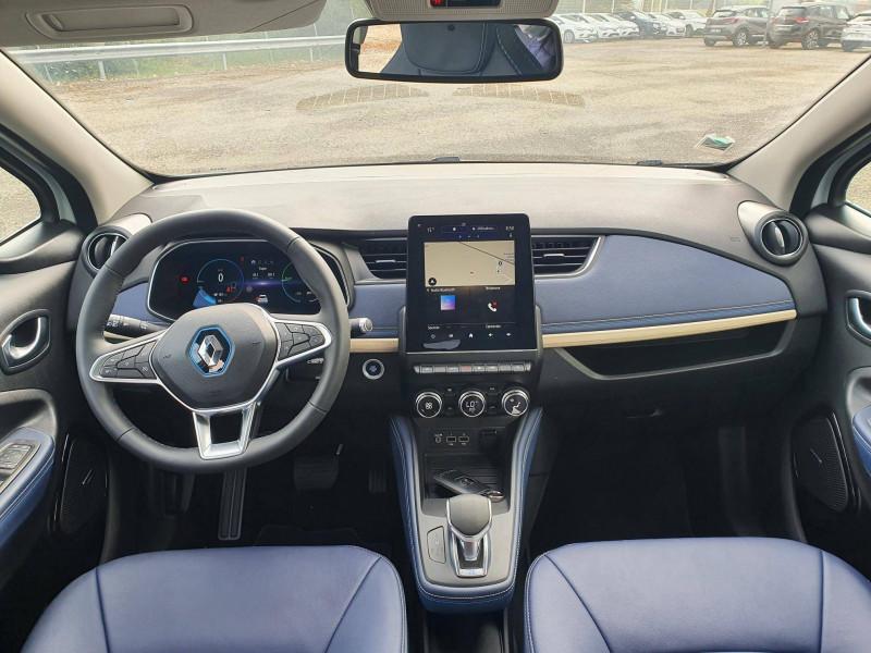 Renault Zoe Zoe R135 Achat Intégral - 21 Exception 5p Blanc occasion à Moncassin - photo n°6
