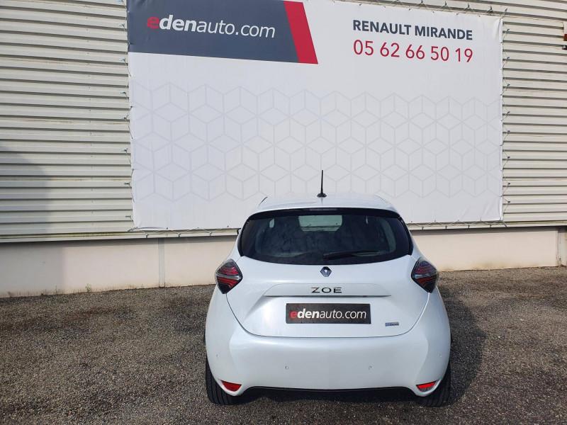 Renault Zoe Zoe R135 Achat Intégral - 21 Exception 5p Blanc occasion à Moncassin - photo n°8
