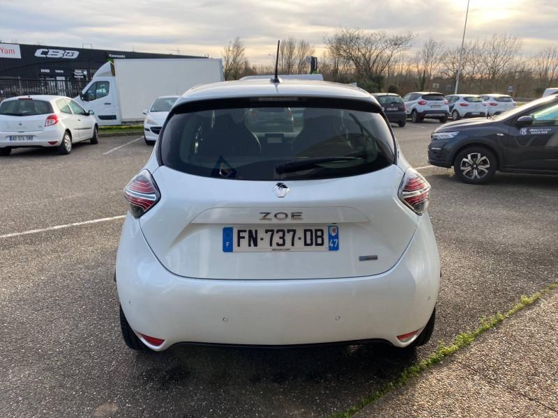 Renault Zoe Zoe R135 Intens 5p Blanc occasion à Agen - photo n°4
