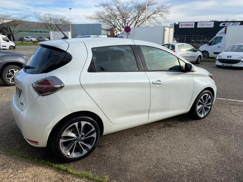 Renault Zoe Zoe R135 Intens 5p Blanc occasion à Agen - photo n°5