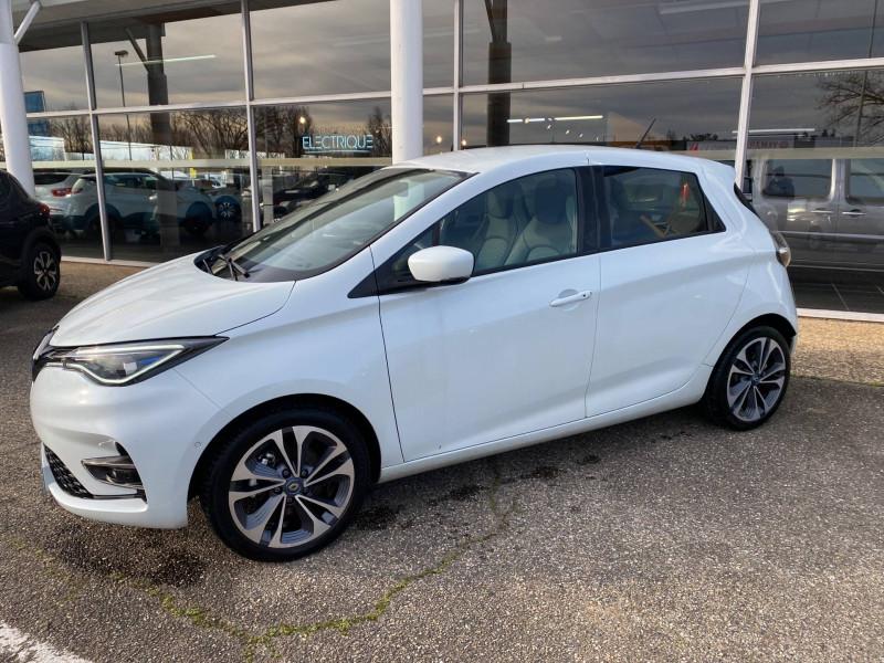 Renault Zoe Zoe R135 Intens 5p Blanc occasion à Agen