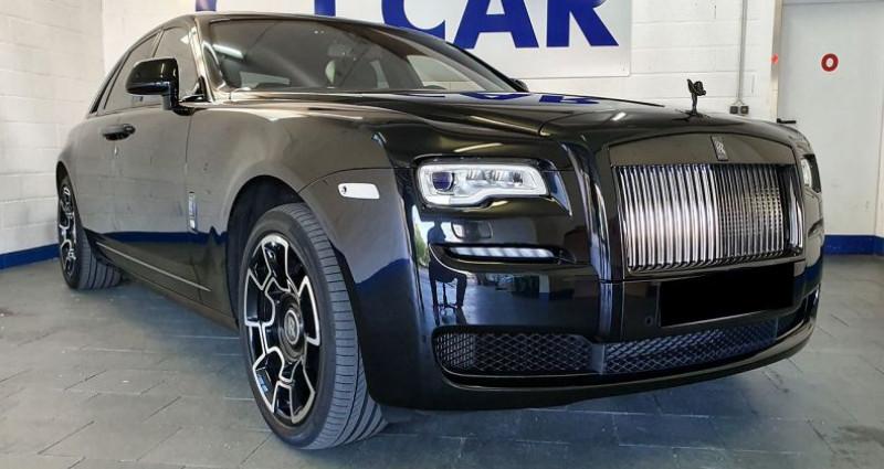 Rolls royce Ghost BLACK BADGE Noir occasion à Hesperange