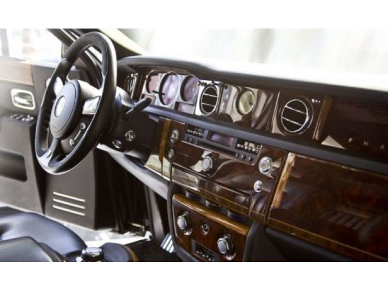 Rolls royce Phantom 6.75 V12 Noir occasion à BEAUPUY - photo n°7