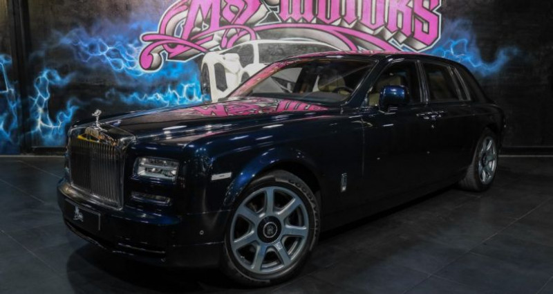 Rolls royce Phantom 6.8 V12 460 39CV Bleu occasion à CANNES