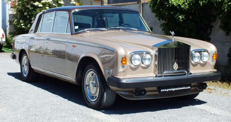 Rolls royce Silver Shadow 1977  occasion à Pouilly-les-Nonains - photo n°4