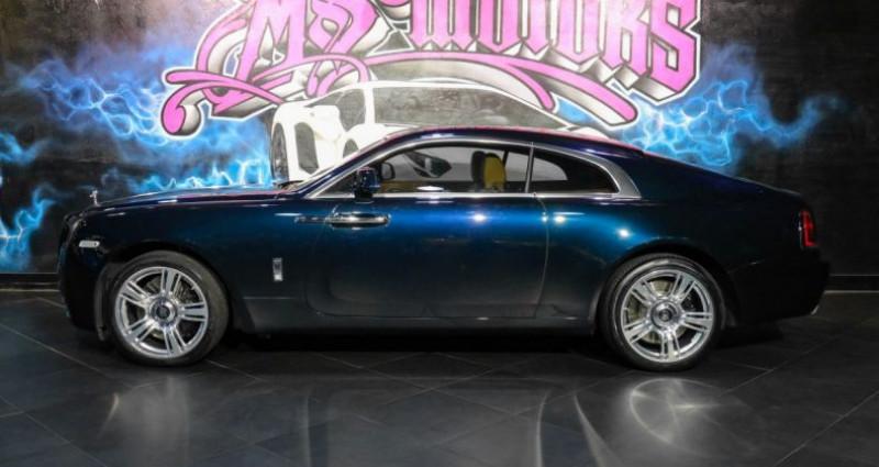 Rolls royce Wraith 6.6 V12 BVA Bleu occasion à CANNES - photo n°3