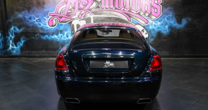 Rolls royce Wraith 6.6 V12 BVA Bleu occasion à CANNES - photo n°4
