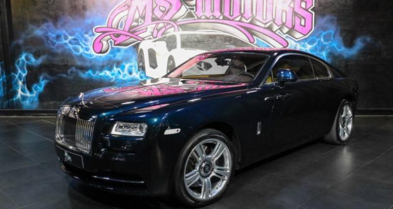 Rolls royce Wraith 6.6 V12 BVA Bleu occasion à CANNES