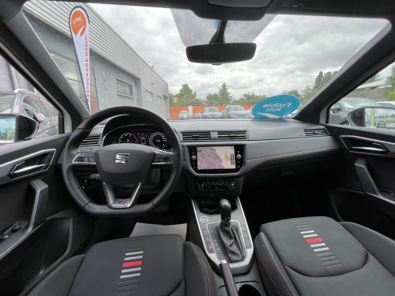 Seat Arona 1.0 Eco TSI 115 CH DSG 7  FR + OPTIONS Blanc occasion à Labège - photo n°4