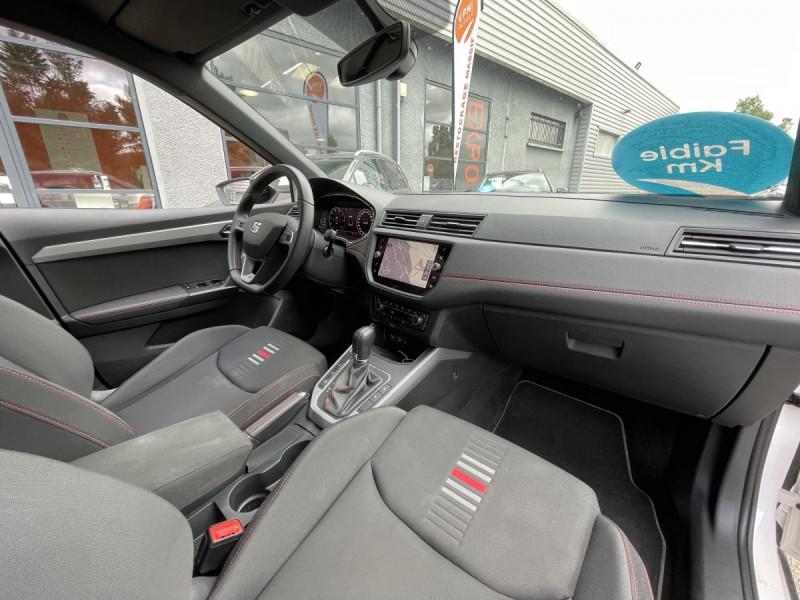 Seat Arona 1.0 Eco TSI 115 CH DSG 7  FR + OPTIONS Blanc occasion à Labège - photo n°10
