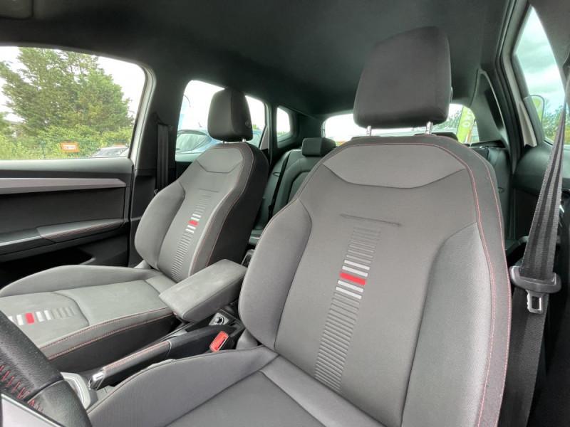 Seat Arona 1.0 Eco TSI 115 CH DSG 7  FR + OPTIONS Blanc occasion à Labège - photo n°8