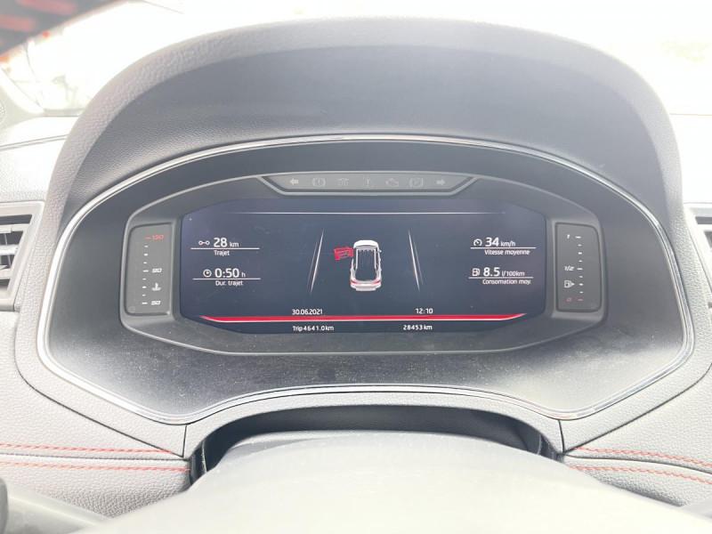 Seat Arona 1.0 Eco TSI 115 CH DSG 7  FR + OPTIONS Blanc occasion à Labège - photo n°13