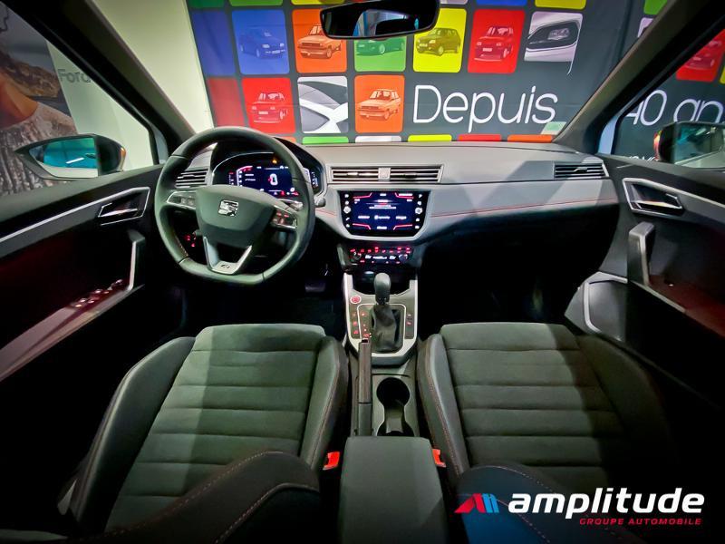 Seat Arona 1.0 EcoTSI 115ch Start/Stop FR DSG Euro6d-T Blanc occasion à Dole - photo n°5