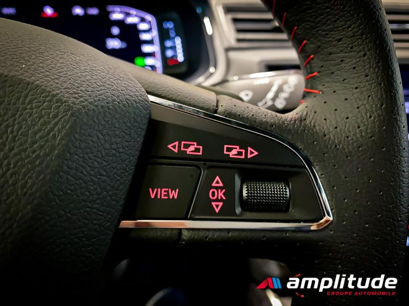 Seat Arona 1.0 EcoTSI 115ch Start/Stop FR DSG Euro6d-T Blanc occasion à Dole - photo n°15
