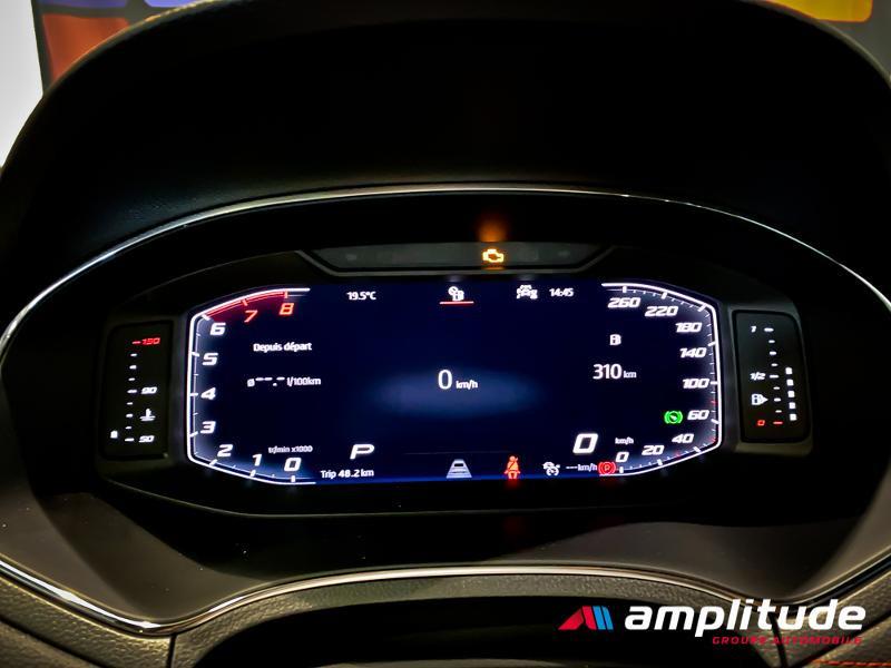 Seat Arona 1.0 EcoTSI 115ch Start/Stop FR DSG Euro6d-T Blanc occasion à Dole - photo n°14