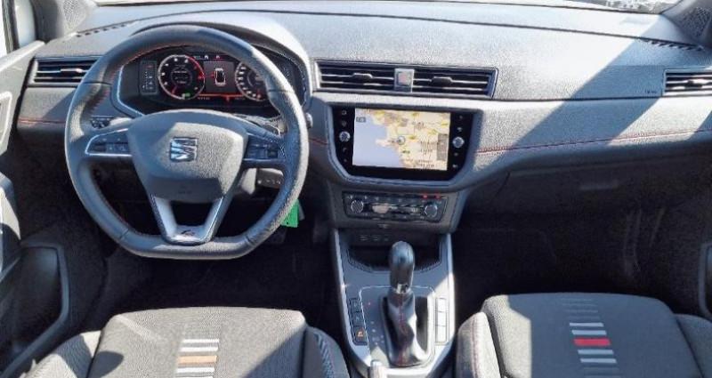 Seat Arona 1.0 EcoTSI 115ch Start/Stop FR DSG Blanc occasion à La Rochelle - photo n°6