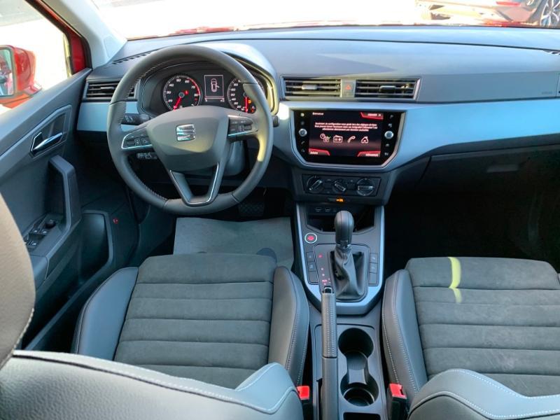 Seat Arona 1.0 EcoTSI 115ch Start/Stop Urban Sport Line DSG Euro6d-T Rouge occasion à Onet-le-Château - photo n°7