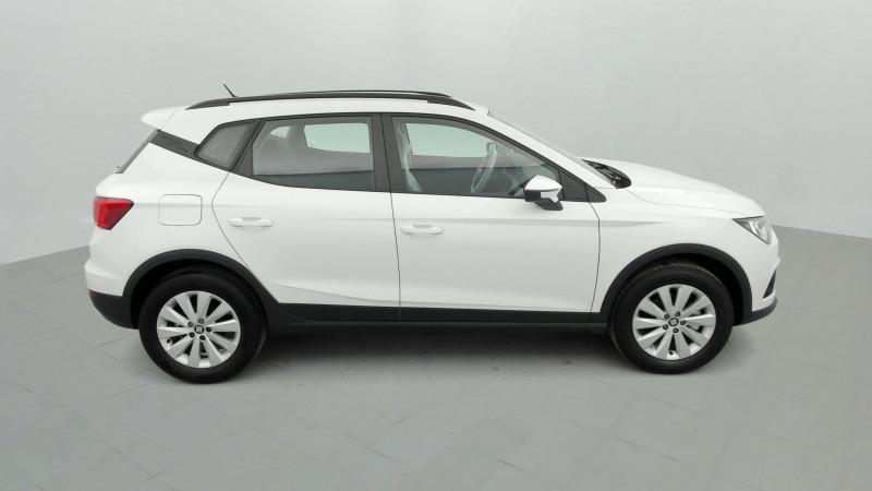 Seat Arona 1.0 EcoTSI 115ch Style + Radar AR Blanc occasion à SAINT-GREGOIRE - photo n°6