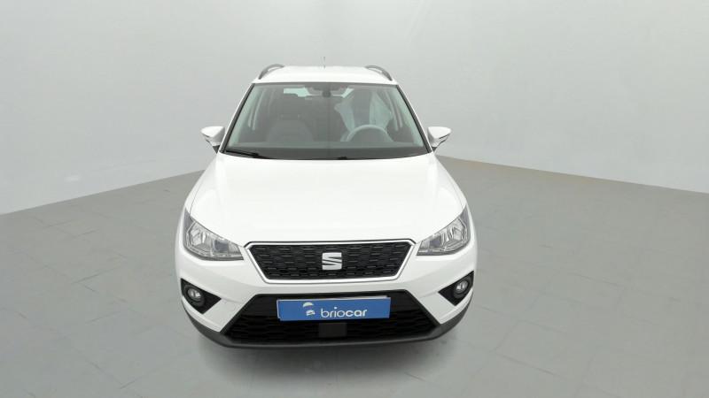 Seat Arona 1.0 EcoTSI 115ch Style + Radar AR Blanc occasion à SAINT-GREGOIRE - photo n°8