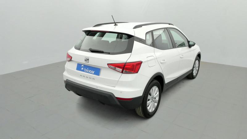 Seat Arona 1.0 EcoTSI 115ch Style + Radar AR Blanc occasion à SAINT-GREGOIRE - photo n°5