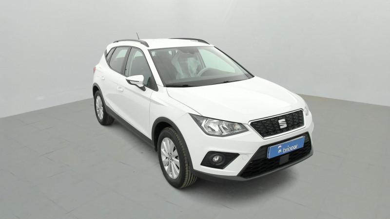 Seat Arona 1.0 EcoTSI 115ch Style + Radar AR Blanc occasion à SAINT-GREGOIRE - photo n°7