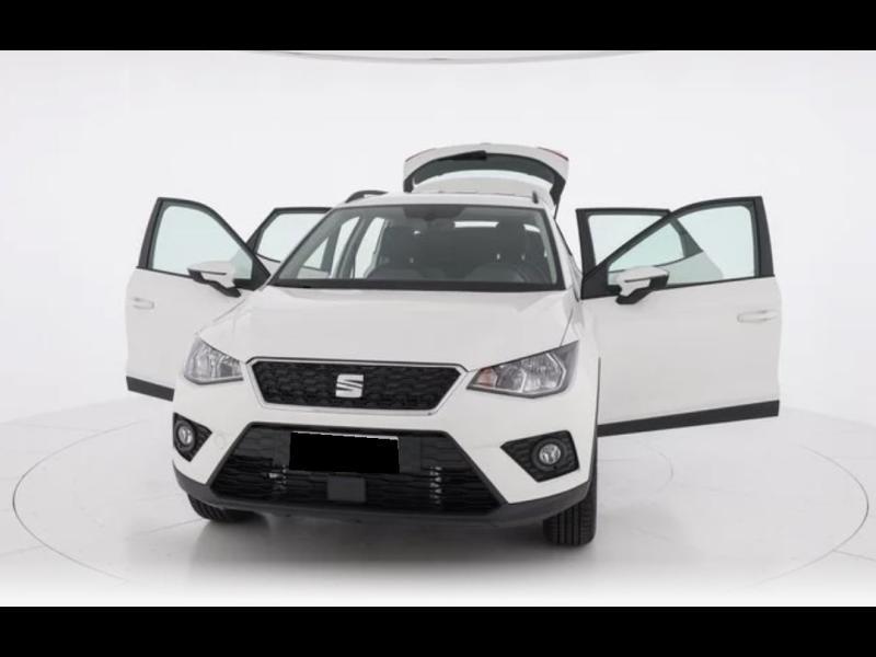 Seat Arona 1.0 EcoTSI 115ch Style + Radar AR Blanc occasion à SAINT-GREGOIRE - photo n°4